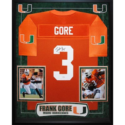 Miami Hurricanes – Frank Gore Jersey Signed