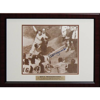 Pittsburgh Pirates – Bill Mazeroski Signed Photo