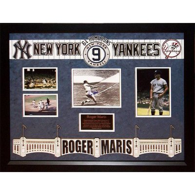 NY Yankees – Roger Maris Signed 61 HR Photo
