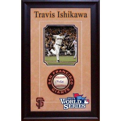 Travis Ishikawa Signed Baseball