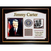 President Jimmy Carter Signed Photo