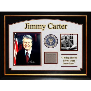 President Jimmy Carter Signed Photo