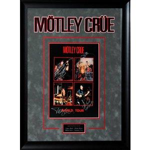 Motley Crue – Band Signed World Tour Book