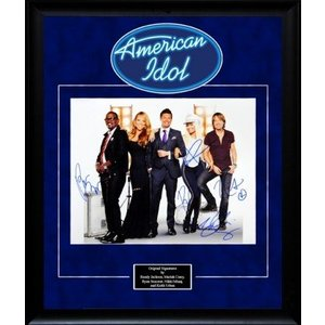 American Idol – Signed Cast  Photo