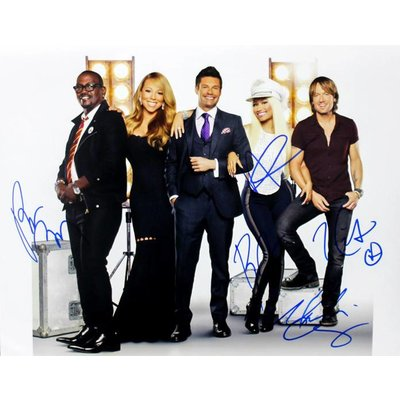 American Idol – Signed Cast  Photo