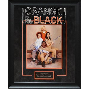 Orange is the New Black - 8x10 cast signed photo
