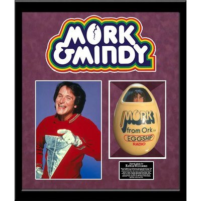 Mork and Mindy - Robin Williams Signed Egg Radio