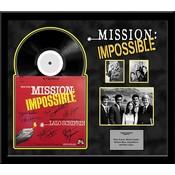 Mission Impossible - cast signed TV soundtrack