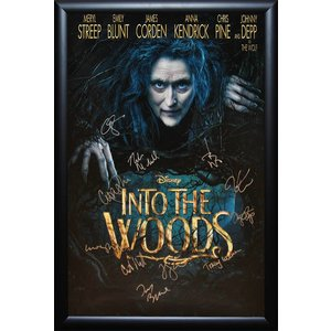 Into The Woods - Cast Signed Poster -