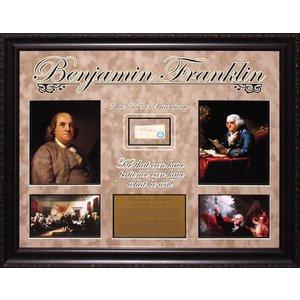 Benjamin Franklin Original Signature