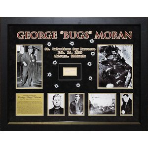"George ""Bugs"" Moran Original Signature"