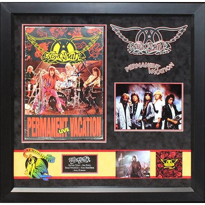 """Aerosmith"" Signed Permanent Vacation Program"