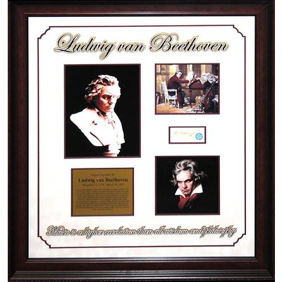 Ludwig von Beethoven Incredibly Rare Original Signature