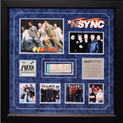 """""""N'Sync"""" band 8x10 collage"""