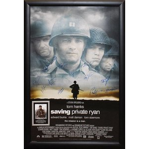 """""""Saving Private Ryan"""" Cast Signed Poster"""