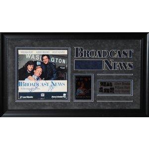 """Broadcast News"" Cast signed Sound Track"