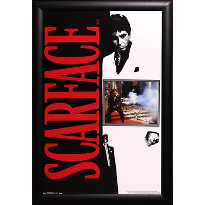 """Scarface"" Signed 8x10 Photo with Movie Poster"