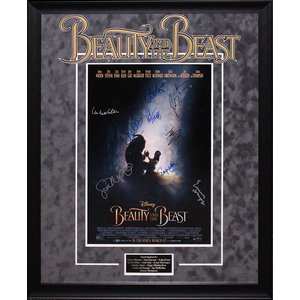 """Beauty & The Beast"" Cast Signed 16X20"
