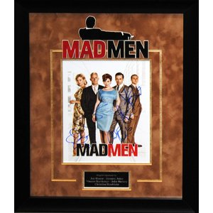 """Mad Men"" Cast Signed 8x10"