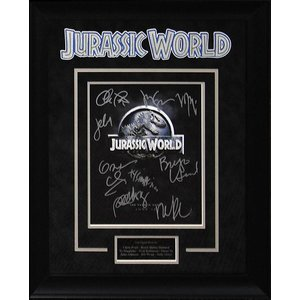 """Jurassic World"" Cast Signed 8x10"