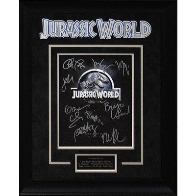 """Jurassic World"" Cast Signed 8x10"