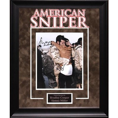 """""""American Sniper"""" Signed 8x10 Photo"""