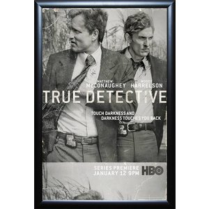 """True Detective"" Signed Poster"