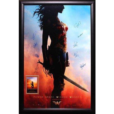 """Wonder Woman"" (2017) Cast signed poster"