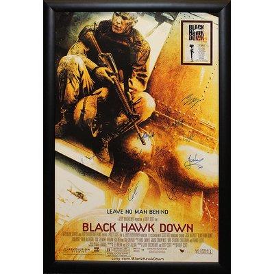 """Black Hawk Down"" Cast signed poster"