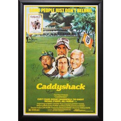 """Caddyshack"" Cast signed poster"