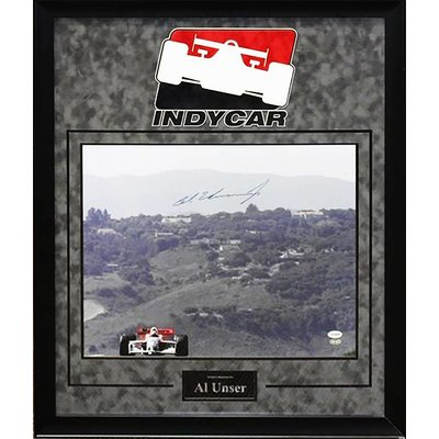 """""""Indy 500"""" - Al Unser Signed 16x20 Photo"""
