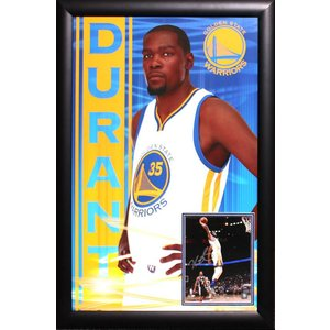 """Golden State Warriors"" Kevin Durant signed 8x10 with poster"
