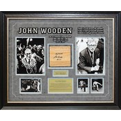"""UCLA"" Coach Wooden Signed Floorboard"