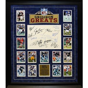 """NFL Greats"" Original Signatures"