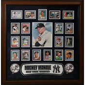 """""""New York Yankees"""" Mickey Mantle Signed 8X10 w/card collage"""