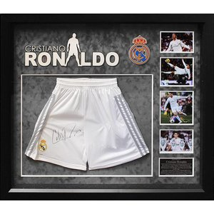 """Real Madrid"" Cristiano Ronaldo signed shorts"
