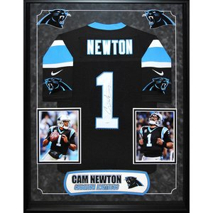 """Carolina Panthers"" Cam Newton signed jersey"