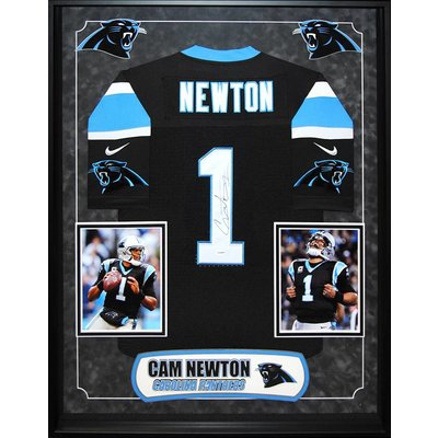 """Carolina Panthers"" Cam Newton signed jersey"