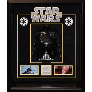 """Star Wars"" Signed Replica Darth Vader Helmet by"