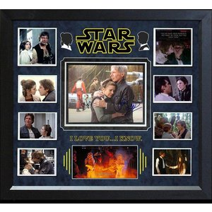 """Star Wars: Force Awakens"" Signed 8X10 collage"
