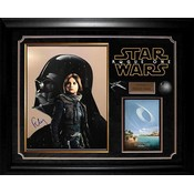 """""""Rogue One: A Star Wars Story"""" Felicity Jones signed Photo"""