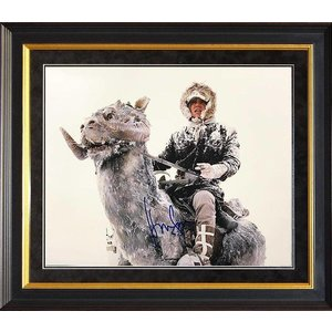 """Star Wars: Empire Strikes Back"" Harrison Ford signed 11x14"