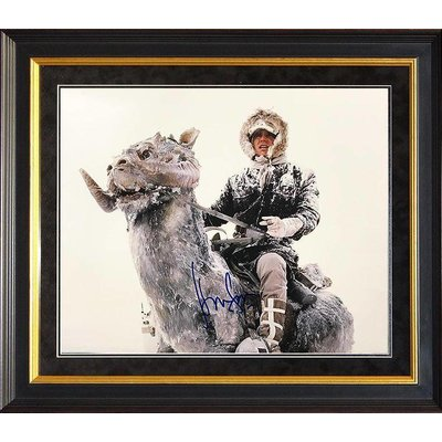 """""""Star Wars: Empire Strikes Back"""" Harrison Ford signed 11x14"""