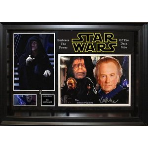 """Star Wars"" Ian McDiarmid Signed 8x10 photo"