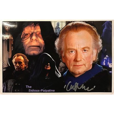 """Star Wars"" Ian McDiarmid Signed 8x10 photo"