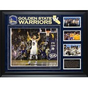 """Golden State Warriors""  2017 NBA Champions Team signed 16x20 collage"