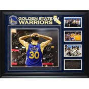 """""""Golden State Warriors""""  2017 NBA Champions Team signed 16x20 collage"""