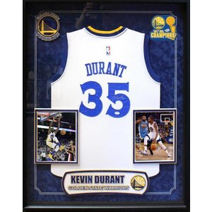 """Golden State Warriors""   2017 NBA Champ Kevin Durant signed Jersey"