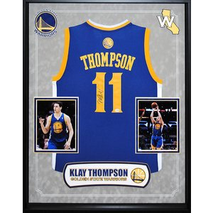 """Golden State Warriors"" 2017 NBA Champ Klay Thompson signed Jersey"