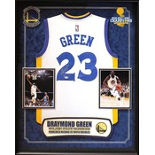 """""""Golden State Warriors"""" 2017 NBA Champ Draymond Green signed Jersey"""